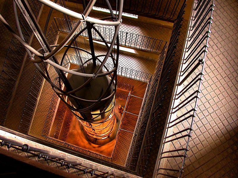 Aufzug in Prag