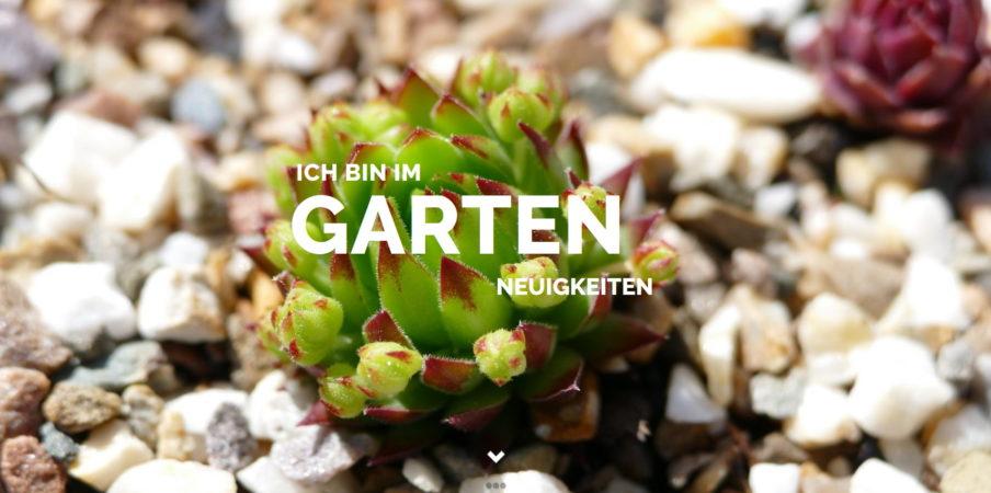 ichbinimgarten.de - Neuigkeiten