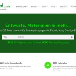 gtauscht.de - Entwürfe und Materialien für Sonderpädagogen