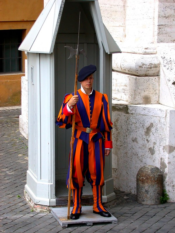 Schweizer Garde im Vatikan